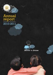 Annual Report 2010 - 11 - Purkal Youth Development Society