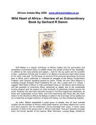 Wild Heart of Africa - wildlife-baldus.com