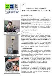 Compensation de dérive sur fauteuil roulant ... - Moteurline - APF