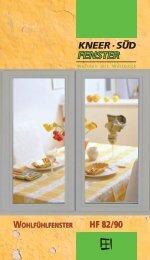 Holz-Fenster | Wohlfühlfenster HF 82 / 90 - Kneer GmbH