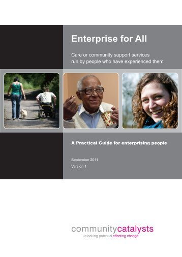 Enterprise for all.cdr - Community Catalysts