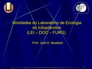 Técnicas em Oceanografia - Laboratório de Ecologia do ...