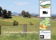 Draft Settlement Management Plan - Baw Baw Shire Council