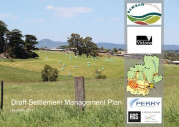 Draft Settlement Management Plan - Baw Baw Shire Council