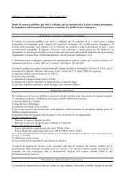 Bando di concorso pubblico - Autorità di Bacino dei fiumi dell'Alto ...