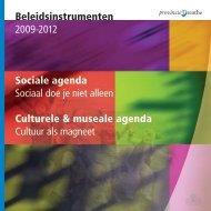 Beleidsinstrumenten 2009-2012 Sociale ... - Provincie Drenthe