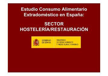 Estudio Consumo Alimentario Extradoméstico en España: SECTOR ...
