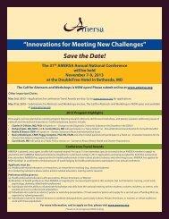AMERSA Conference
