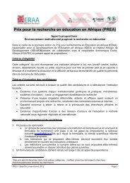 Conditions de participation - ADEA