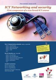ICT Networking and security - IVPV - Instituut voor Permanente ...
