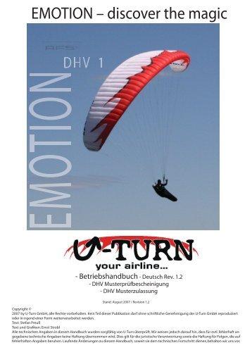 EMOTION Handbuch rev 1.3.indd - U-Turn Paragliders