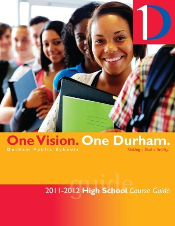 2011-12 High School Course Offerings - Durham Public Schools
