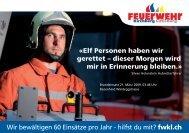 Wir bewältigen 60 Einsätz - Feuerwehr Kirchberg Lütisburg