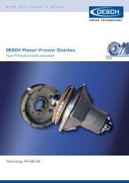 DESCH Planox®-Friction Clutches - Radius Radpol