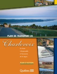 4903/Charlevoix PlanAction. PAP - Transports Québec