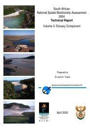 Estuary Component - Biodiversity GIS - SANBI