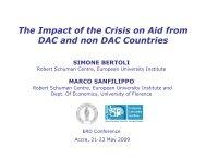 Presentation - ERD - European University Institute
