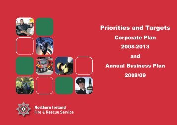 Priorities and Targets - Northern Ireland Fire & Rescue Service