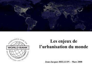 Les défis de l'urbanisation du monde - Euromedina