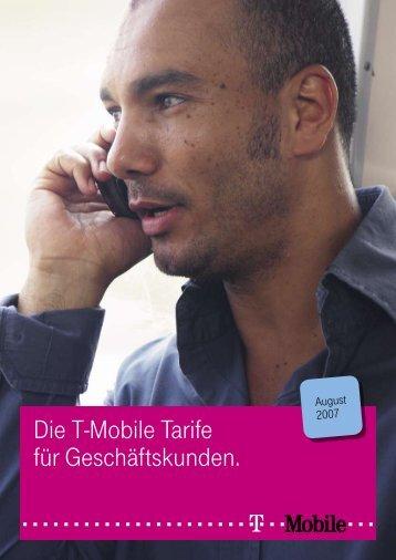 Die T-Mobile Tarife für Geschäftskunden.
