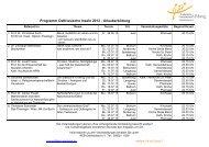 Programm Ostfriesische Inseln 2013 - Urlauberbildung - KEB ...
