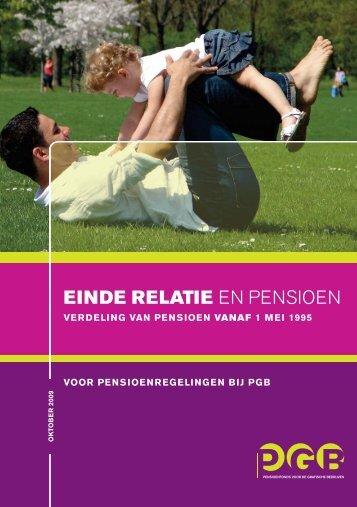 Einde relatie en pensioen - PGB