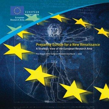 Preparing Europe for a New Renaissance: A Strategic ... - Madri+d