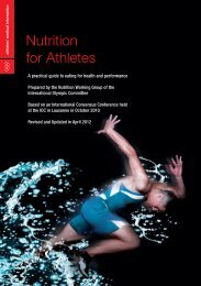 Nutrition for Athletes - Coca-Cola