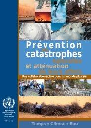 Prévention catastrophes - E-Library - WMO