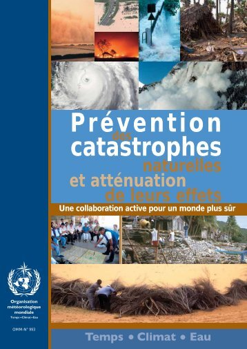 Prévention catastrophes - E-Library - WMO