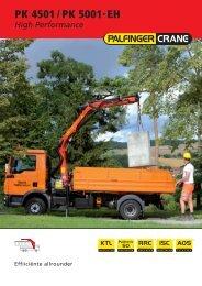 bijlage: Brochure PK 4501-HP - Palfinger