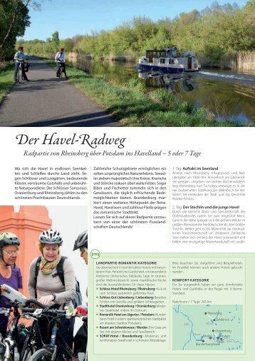 Der Havel-Radweg - Die Landpartie Radeln und Reisen GmbH