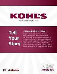 Kohl's Media Kit.pdf - RichRelevance