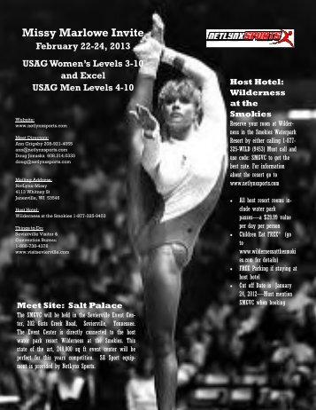 Missy Marlowe Invite - NetLynx Sports