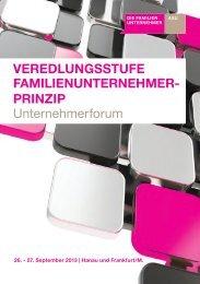 Forum-Programm-2013 - Familienunternehmen