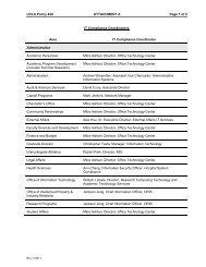 UCLA Policy 420 - UCLA Admin Policies & Procedures