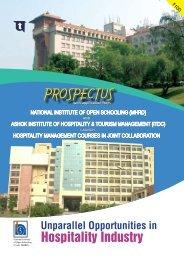 PROSPECTUS - The National Institute of Open Schooling