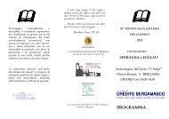 Programma completo anno 2013 - Liceo Classico Statale