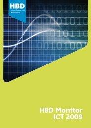 HBD Monitor ICT 2009 - Hoofdbedrijfschap Detailhandel