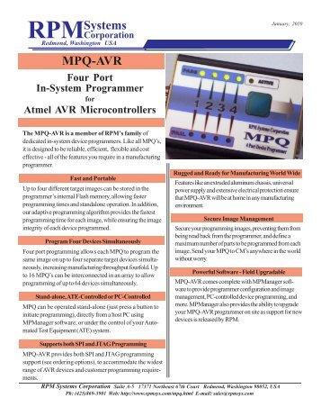 RPMSystems MPQ-AVR - Indes.com