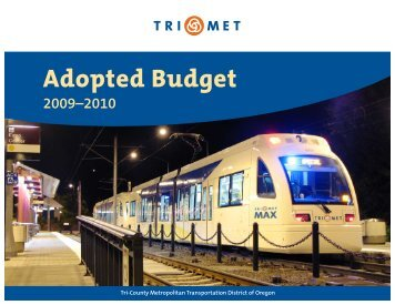 Adopted Budget - TriMet