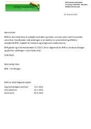Nyhedsbrev BHR januar 2013 - Schæferhundeklubben for Danmark