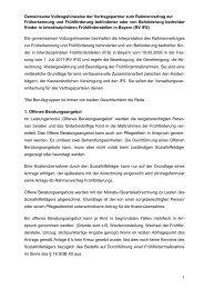 Gemeinsamen Vollzugshinweise - Arbeitsstelle Frühförderung Bayern