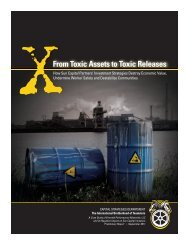 From Toxic Assets to Toxic Releases - International Brotherhood of ...
