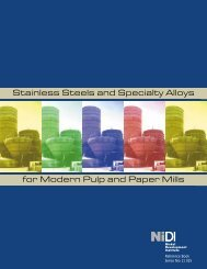 Stainless Steels and Specialty Alloys for Modern ... - Nickel Institute