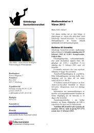 ladda hem vårt medlemsblad för våren 2013 - Folkuniversitetet