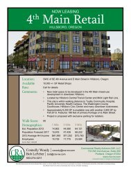 4th Main Retail - Commercial Realty Advisors