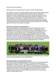 Schulen Ruswil: Schulschluss Mit Dankbarkeit und Zuversicht das ...