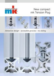 New compact mk Tension Plug - mk Technology Group