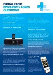 Digital Radio FAQ - Digital Radio Plus